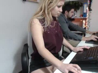 nelyeoffice office cam girl takes out her favorite sex toys online