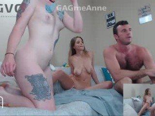 gagmeanne nude cam bitch enjoys hard live sex on camera