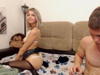 johnnyforlea cam girl with big ass presents hot live sex cum show