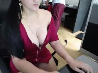secretaryhot95 latina cam girl loves cute first-timer fingers her juicy cam babe pussy online