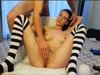 sexy_lady_dunker cam girl with tight ass makes blowjob