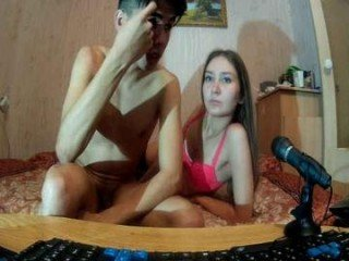 ilgamushka slim couple shoot amateur POV video of their live sex show